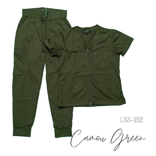 LSS JS2 camou green