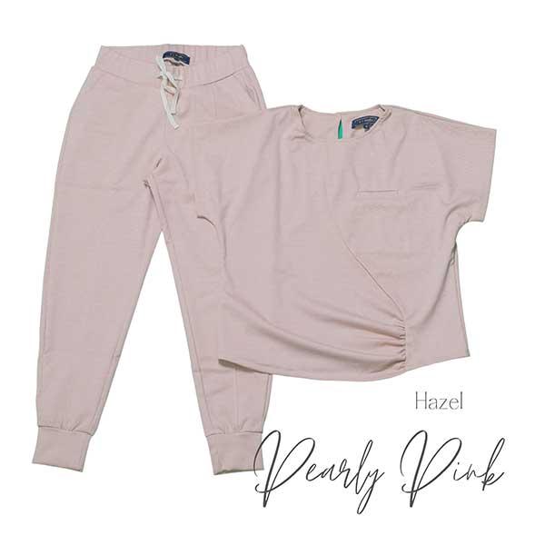 hazel pearly pink