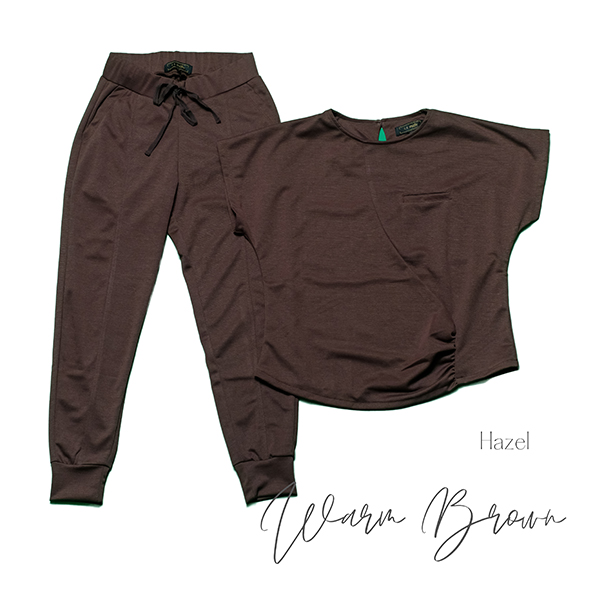 hazel warm brown 1