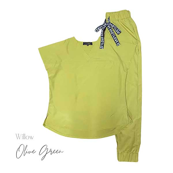 willow olive green